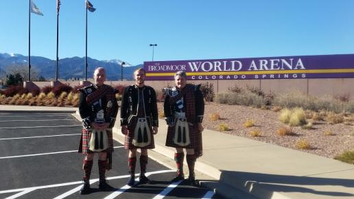 David Anderson, Kenny, Davy Elder.